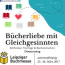 Leipziger Buchmesse 2017 – Donnerstag